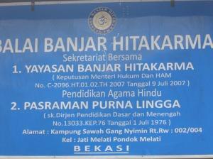 Pelang Pasraman Purna Lingga Pondok Gede Bekasi